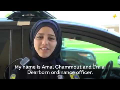 First police woman with hijab in canada