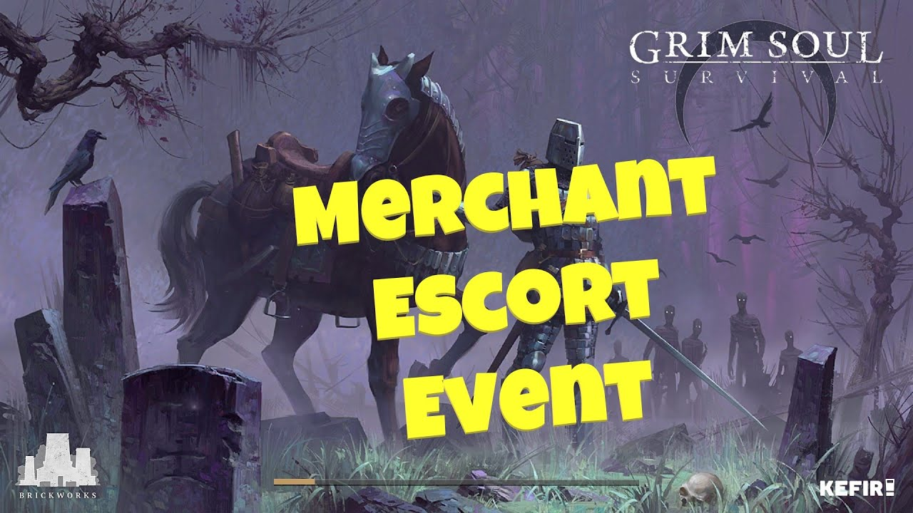 Grim Soul : Dark Fantasy Survival #287 – Merchant Escort + Night Cache Hunting
