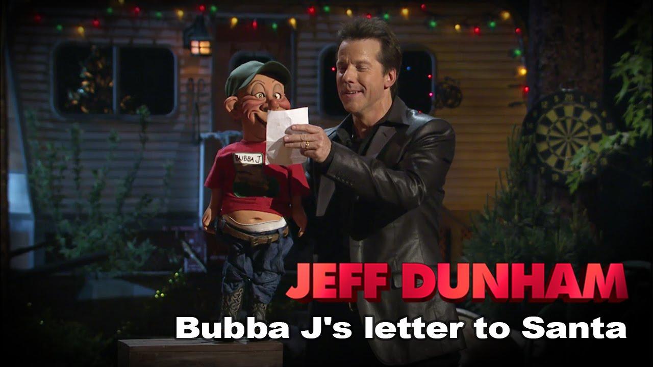 Bubba J\'s letter to Santa\