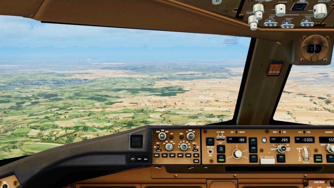 Emirates Wallpaper Hd Emirates Boeing 777 Landing Melbourne Cockpit Hd