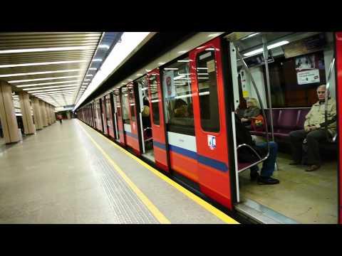 Metro Warszawa at station Ursynow