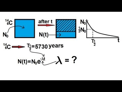 Physics - Nuclear Physics (8 of 22) Finding the Decay Constant
