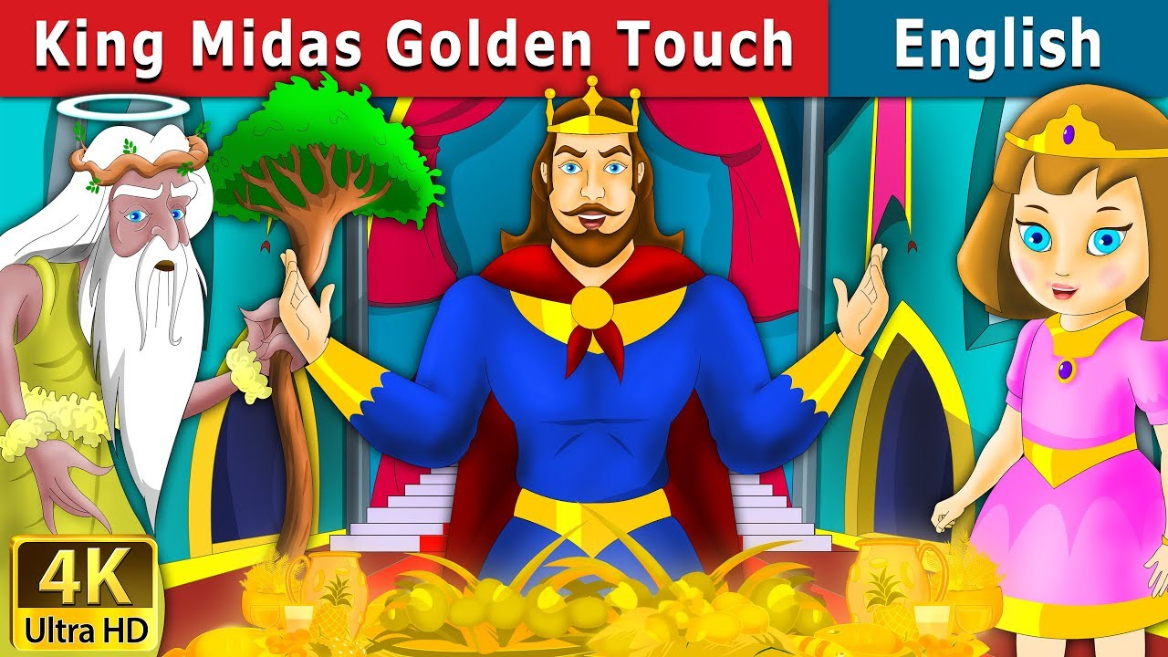 King Midas Touch in English | Stories for Teenagers | English Fairy Tales - YouTube
