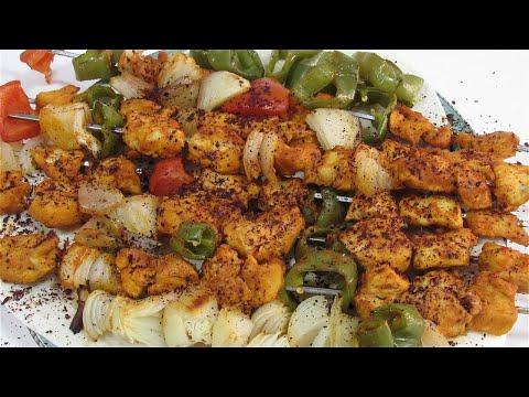 سر تتبيلة المطاعم الرهيبة لتكة الدجاج المشوية بدون فحم لا تقاوم