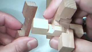 Wooden Cross Puzzle Solution