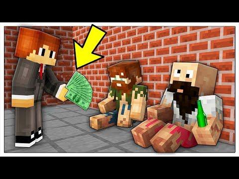 ABBIAMO TROVATO UN LAVORO! VITA DA POVERI in Minecraft ITA thumbnail