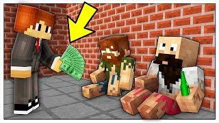 ABBIAMO TROVATO UN LAVORO! VITA DA POVERI in Minecraft ITA