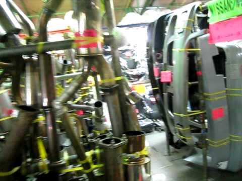 JDM Japanese Used Car Parts Store Nerima Part 4 - YouTube
