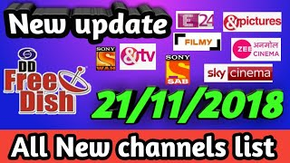 New update full auto scan channels list dd free dish satellite