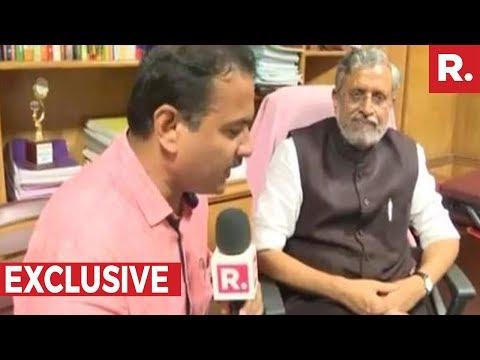 Bihar's New Deputy Chief Minister - Sushil Kumar Modi Talks About Lalu Prasad Yadav