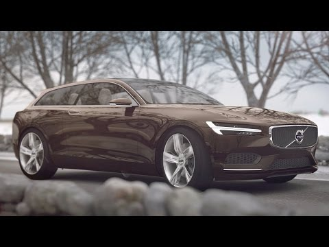 ► NEW Volvo Concept Estate