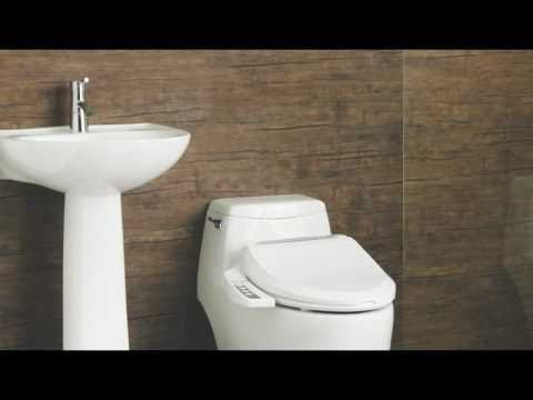 Biobidet Com Ulitmate Bb 600 Bidet Seat Convenient Features And How To Use Part Ii Youtube