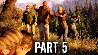 State of Decay 2 Early Gameplay Walkthrough Part 5 - YOU DON