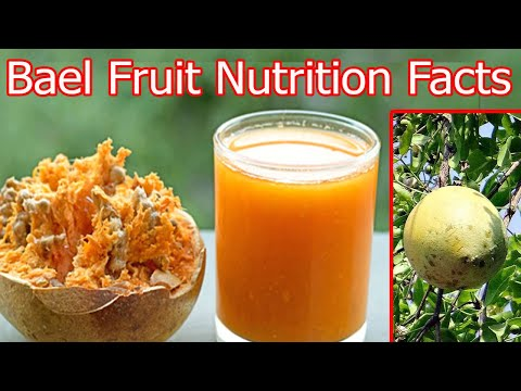Bael Fruit Nutrition Facts and Health Benefits || Bael Fruit(Stone Apple) Nutrition Facts