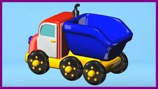 Build & Play Big Trucks Kids 3d Puzzles Construction:haul Truck Ipad App Demo /Дети построить