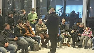 Трансляция встречи с подписчиками (Санкт-Петербург)