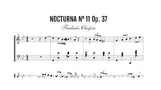 Partitura: Frederic Chopin - Nocturna (Nocturne) Nº 11 Op. 37 | Clases de Produccion de Partituras