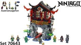 Lego Ninjago 70643 Temple of Resurrection - Lego Speed Build Review