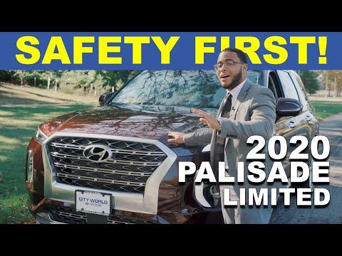 Safety Features! 2020 Hyundai Palisade | City World Hyundai | Bronx, NY White Plains Yonkers