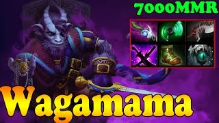 Dota 2 - Wagamama 7000 MMR Plays Riki Vol 1 - Ranked Match Gameplay!