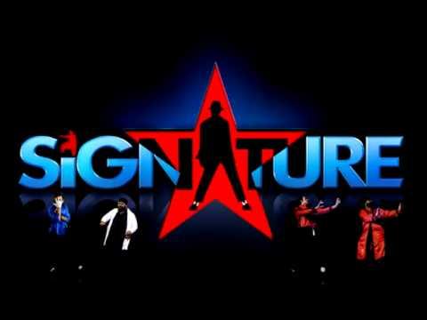 Signature song (Britains Got Talent).