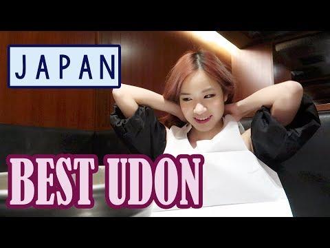 BEST UDON IN JAPAN! Shopping & Sightseeing in Shinjuku