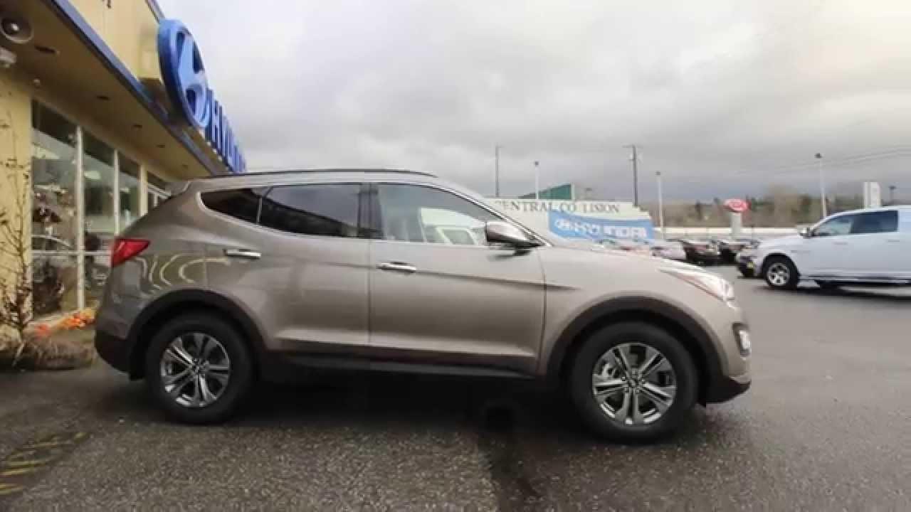 2015 Hyundai Santa Fe Sport Gray Fg249817 Skagit
