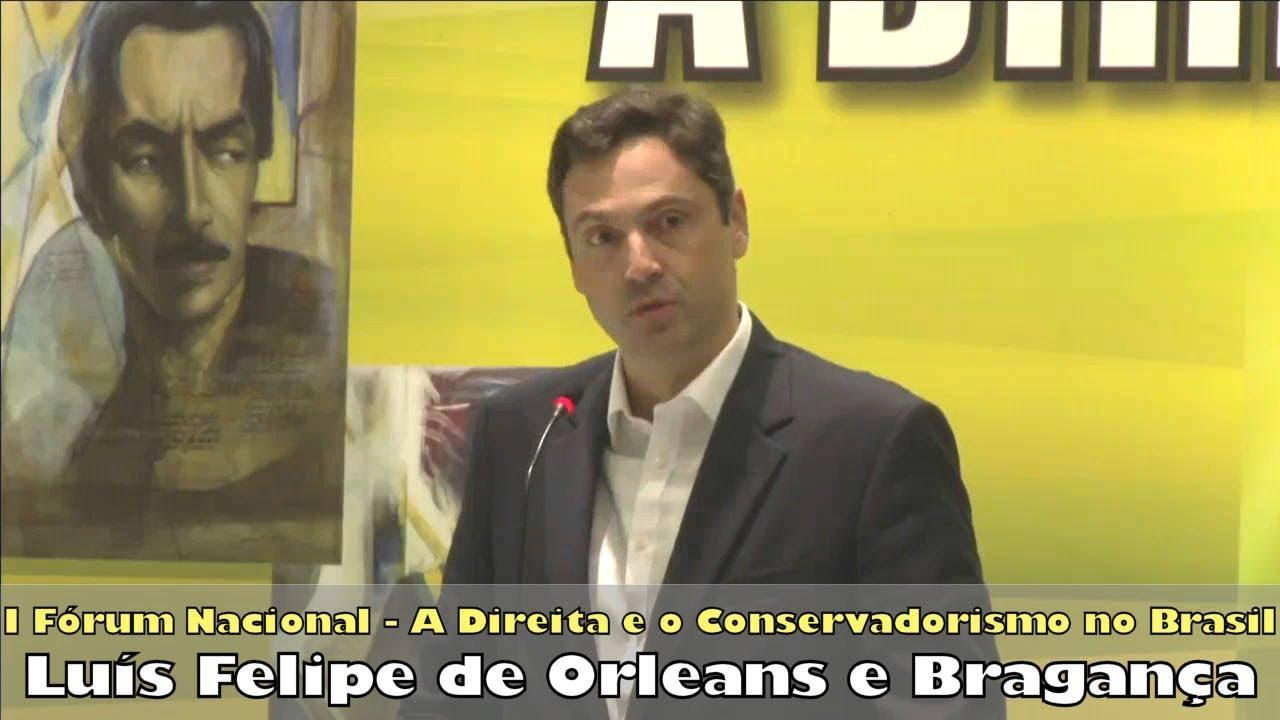 Palestra 1 - S.A.R. Luís Felipe de Orleans e Bragança - O Brasil e o Liberalismo Econômico