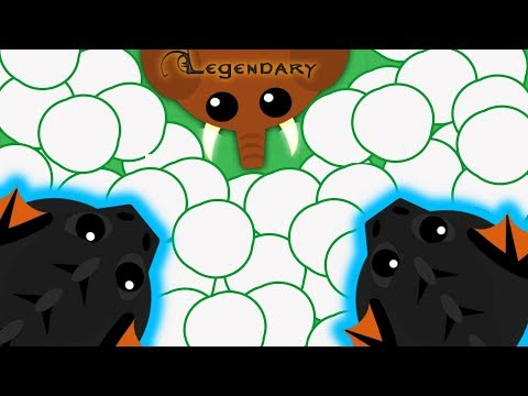 Mope.io OLDEST OVERPOWERED GLITCH! in mopio history// Trolling with karken