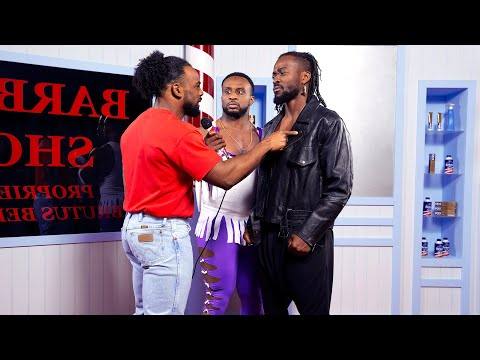 "New Day recreates the ""Barber Shop Window Incident"""