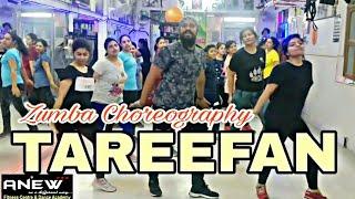 Tareefan - Zumba Choreography || Zumba Dance Choreography || Veere Di Wedding
