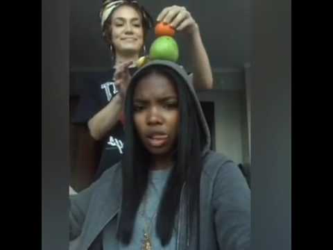 Star Cast- Jude and Ryan on IG live playing with fruits lol