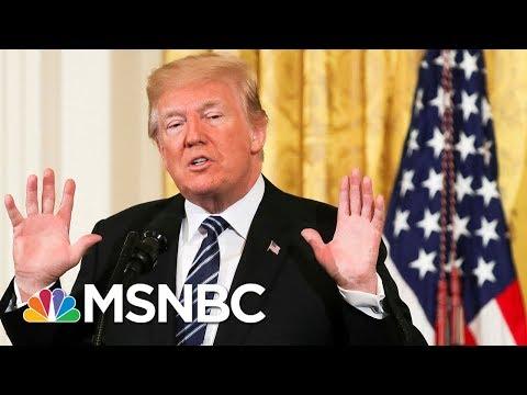 President Trump Demands DOJ Investigation Amid Election Security Concerns | Velshi & Ruhle | MSNBC