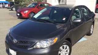 (sold) 2011 Toyota Corolla Ce Preview, For Sale At Valley Toyota Scion, In Chilliwack B.c. # 15867a