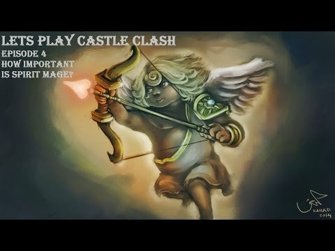 Lets Play Castle Clash Episode 4: How Important Is Spirit Mage?