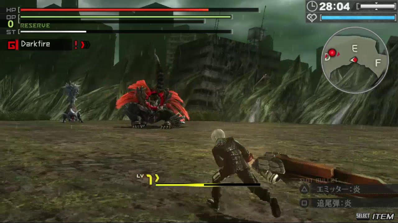 God Eater: Resurrection - Demo Gameplay [PSVita] - YouTube