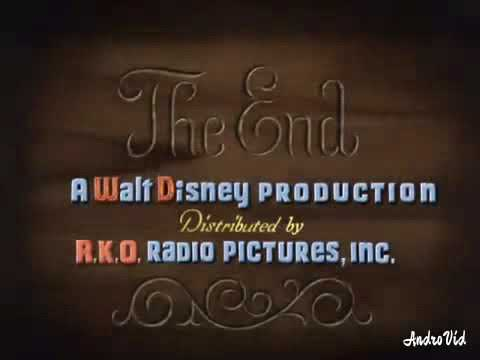 """PINOCCHIO"" 1940 ARABIC ENDING WITH WALT DISNEY/RKO RADIO PICTURES LOGO"
