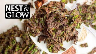 No Music Chocolate Kale Chips Recipe