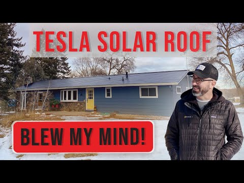 Tesla Solar Roof blew my mind!