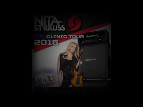 Nita Strauss ~Poison~  Guitar Clinic  Romford London