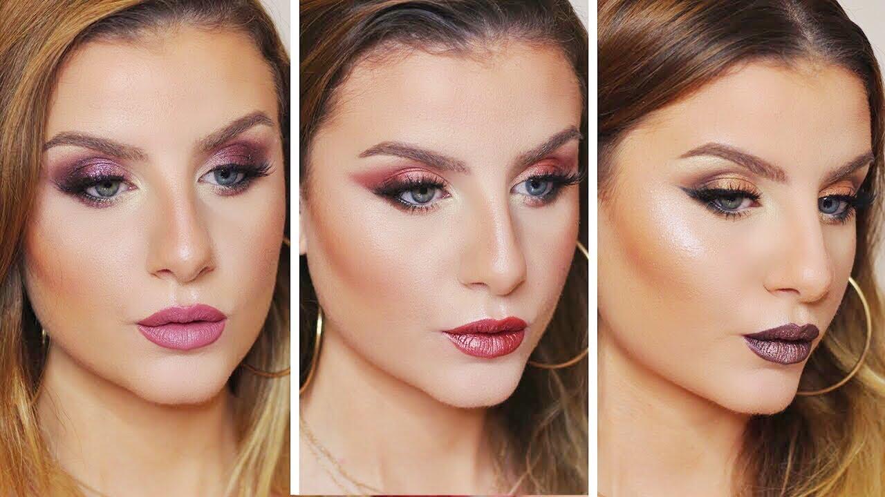 Favorito NABLA Dreamy Palette : 3 LOOK | Make up Tutorial Trucco Occhi  XQ54