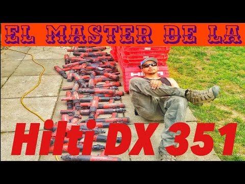 COMO DESARMAR Y ARMAR UNA HILTI DX 351