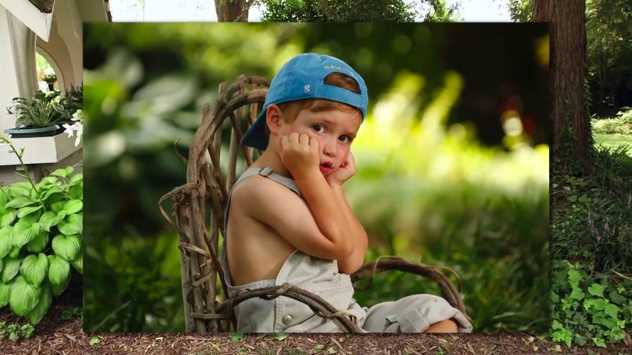 Free PhotoVision Video: Children's Portrait Garden