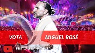 VOTA MIGUEL BOSE: Fans votan por el artista más popular de la historia del #FESTIVALDEVIÑA