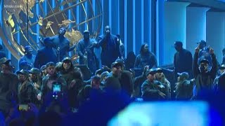 'Jesus is King: Sunday Service Experience': Kanye West, choir perform at Lakewood Church Video