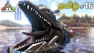 ARK Survival Evolved Episode 16 (T REX Taming) Live Tamil Gaming