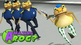 Amazing Frog New Update! - RESISTING ARREST - Part 34 (f0.2.8b)