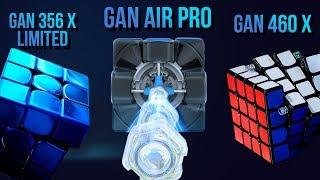 💣 Новые GAN Air Pro, GAN 251 M, GAN 460 X, GAN 356 X Limited