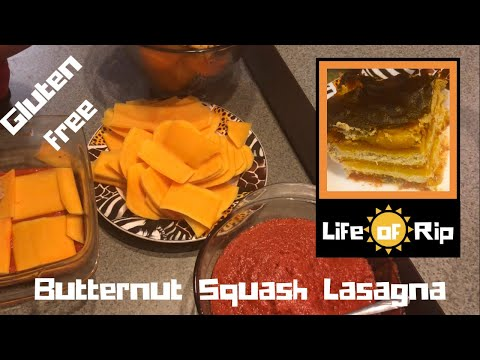 Butternut Squash Lasagna Easy, cheap, gluten free and plant based