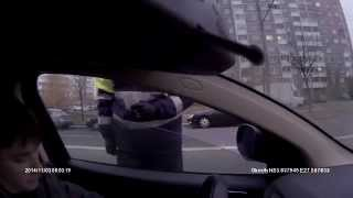 ГАИ Минск. Попытка развода на пешехода.